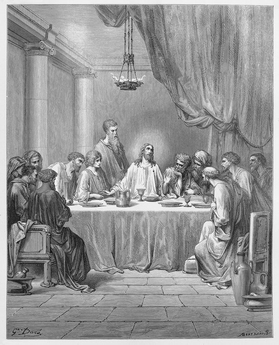 Awesome Wall Mural   Vinyl The Last Supper   Themes Part 29
