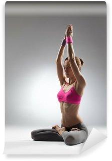 the yoga woman