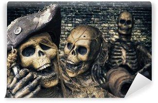 Three Skeleton Pirates Portrait