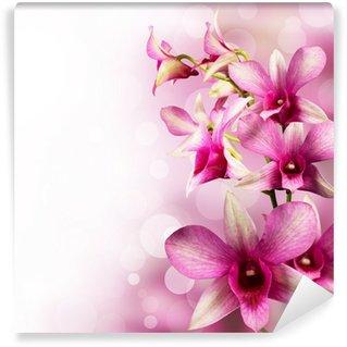 tropical orchids Wall Mural - Vinyl