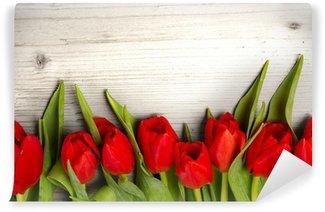 Tulip bouquet Wall Mural - Vinyl