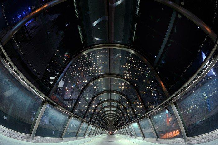 Wall Mural - Vinyl tunnel de verre - Styles