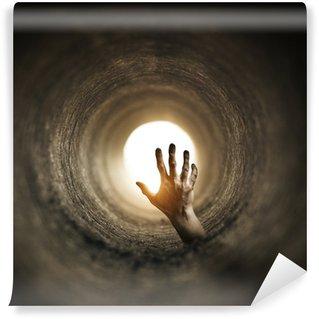 Wall Mural - Vinyl Tunnel Horror