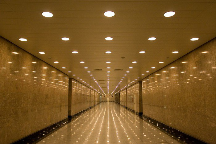 Wall Mural - Vinyl tunnel of lights - Themes