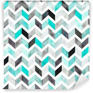 Vinyl Wall Mural turquoise shiny vector background
