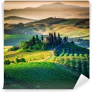 Wall Mural - Vinyl Tuscan country