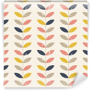 Wall Mural - Vinyl Twigs pattern.