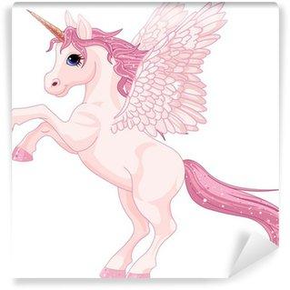 Wall Mural - Vinyl Unicorn Pegasus