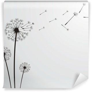 vector dandelion Wall Mural - Vinyl