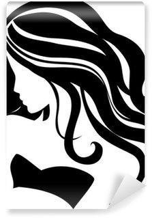 Vector girl Wall Mural - Vinyl