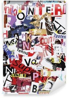 Vinyl Wall Mural Vector grunge text