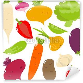 Wall Mural - Vinyl vegetables