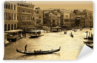 Venice in sepia toned Wall Mural - Vinyl