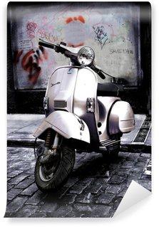 Vespa Wall Mural - Vinyl
