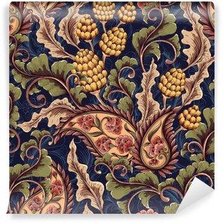 Victorian seamless pattern Wall Mural - Vinyl