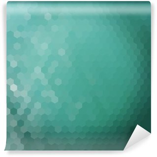 Water hexagon background