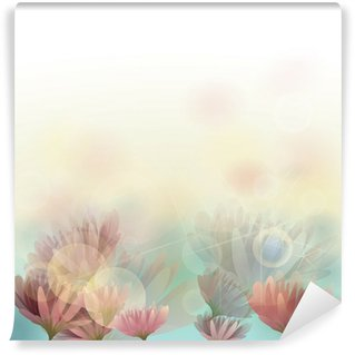 Water lily / Floral background