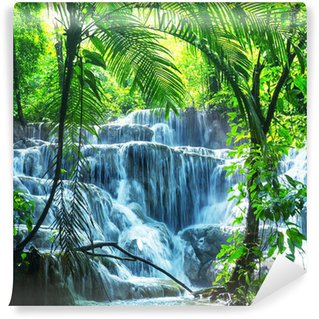 Waterfall in Mexico Wall Mural - Vinyl