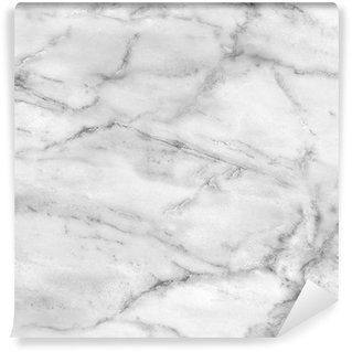 Vinyl Wall Mural White marble texture (high.res.)