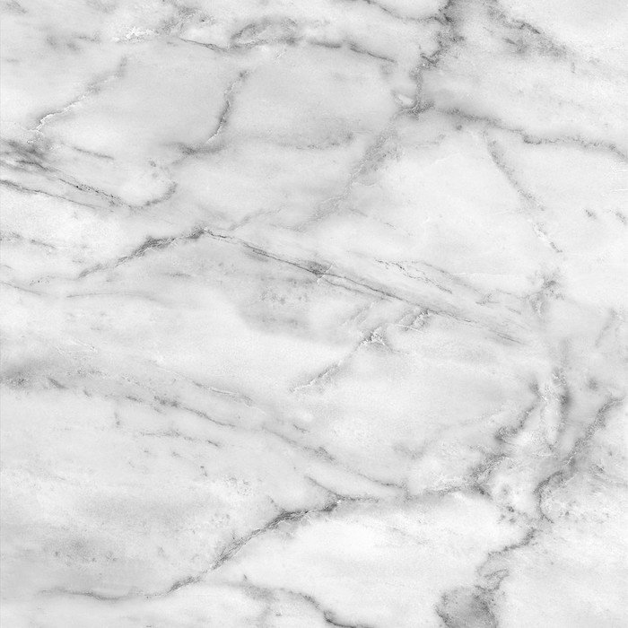 White Marble Texture High Res Wall Mural Vinyl