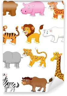 Wild animal cartoon Wall Mural - Vinyl