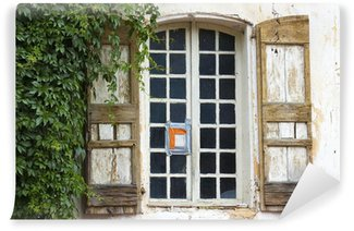 window with shutters Wall Mural - Vinyl