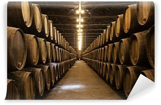 Wall Mural - Vinyl Wine cellar, Porto