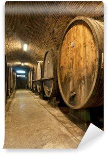 Wall Mural - Vinyl Wine cellar