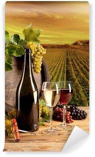 Wall Mural - Vinyl Wine in vineyard