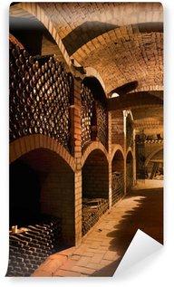 Wall Mural - Vinyl winecellar