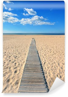 Wooden path to the beach