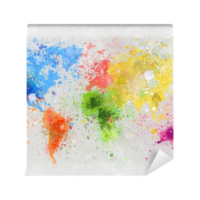 An Explosion Of World Colors Contemporary Abstraction