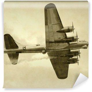 Vinyl Wall Mural World War II era American bomber