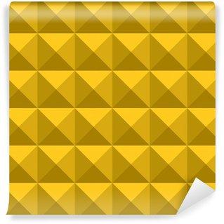 yellow gold triangle pattern