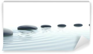 Wall Mural - Vinyl Zen path of stones in widescreen