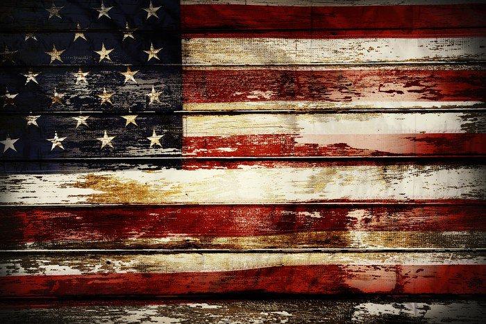 American flag vinyl wall mural pixers we live to change for American flag wall mural