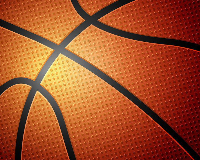 Basketball ball background vinyl wall mural pixers we for Basketball wall mural
