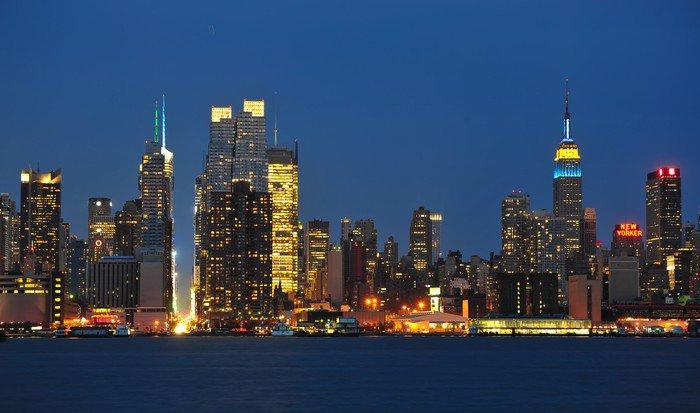 New York City Skyline from the Hudson River