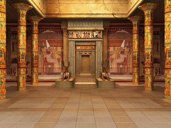 Pharaoh S Tomb Vinyl Wall Mural Pixers 174 We Live To Change