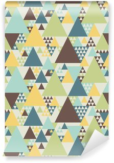 Vinyl Wallpaper Abstract geometric pattern #2