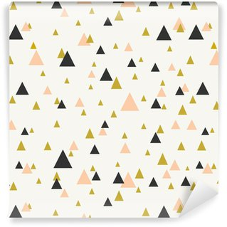 Abstract Geometric Seamless Pattern Vinyl Wallpaper