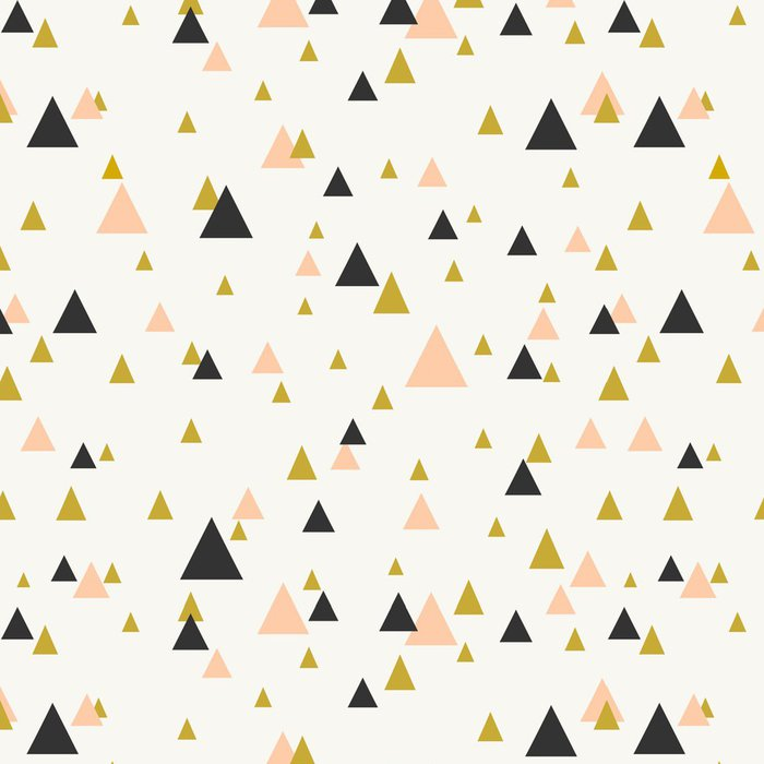 Vinyl Wallpaper Abstract Geometric Seamless Pattern - Themes