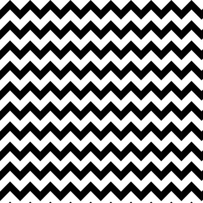 Vinyl Wallpaper Abstract geometric zigzag seamless pattern. vector - Styles