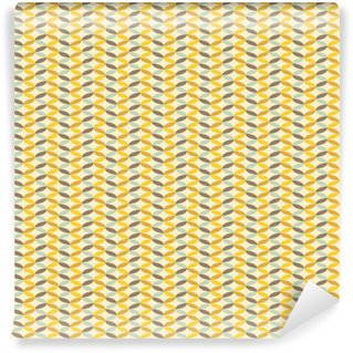 Vinyl Wallpaper abstract retro geometric pattern