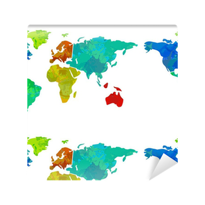 Colourful world map wallpaper pixers we live to change gumiabroncs Gallery
