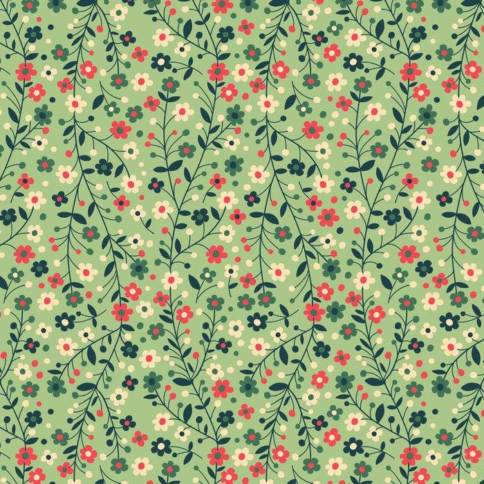Vinyl Wallpaper Flowering branches - Textures