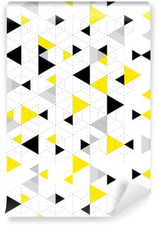 Vinyl Wallpaper Geometric Pattern Background