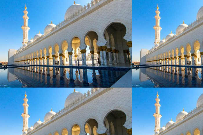 Vinyl Wallpaper Mosque Sheikh Zayed bin Sultan Al Nahyan - The Middle East