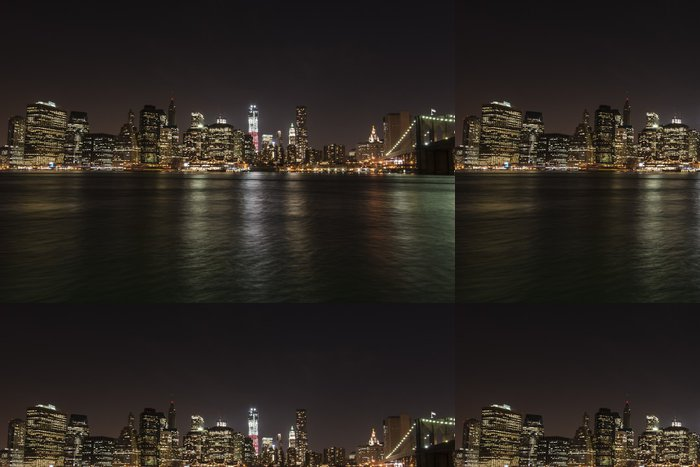 Vinyl Wallpaper New York, Manhattan, Brooklyn Bridge - America
