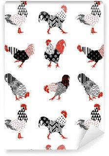 Vinyl Wallpaper rooster